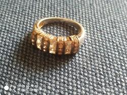 Kristály köves gyűrű