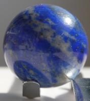 Természetes lápisz lazuli (lapis lazuli) csiszolat 21 mm átmérő