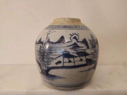 Antik kínai porcelán tea gyömbér tartó váza Kína Ázsia
