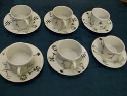 Egyszerű porcelán reggeliző készlet új