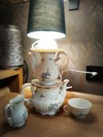 Zsolnay csészés lámpa