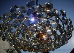 Bakalowits kristálycsillár 60cm átmérő