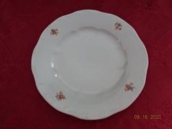 Zsolnay porcelán, antik, pajzspecsétes süteményes tányér.
