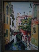 Festmény Velence ! Leáraztam !!