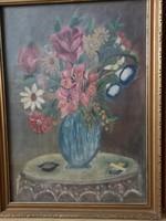 Virágcsendélet 38x48