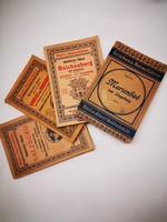 Antik utikönyvek az 1910-es évekből
