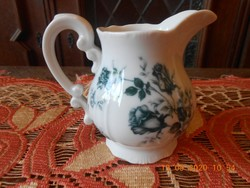 Zsolnay rózsamintás mintás tej / tejszín kiöntő