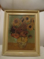 Repró: Van Gogh - Napraforgók