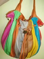 Vintage VERA PELLE bőr táska