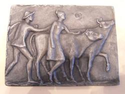 Small sculpture by sculptor Hanna Cauer