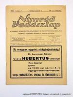 1942 január 1  /  NIMRÓD VADÁSZLAP  /  E R E D E T I, R É G I Újságok Ssz.:  12597