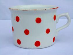 Zsolnay vastagfalú porcelán bögre