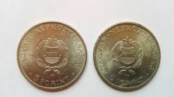 Régi 1967 évi  5.-Ft-os  pénzérme