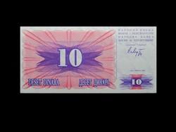 UNC - 10 DINARA - BOSZNIA-HERCEGOVINA - 1992 !!