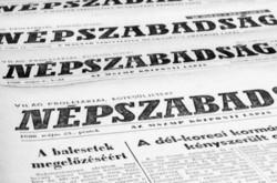 1972 október 7  /  NÉPSZABADSÁG  /  SZÜLETÉSNAPRA! RETRO, RÉGI EREDETI ÚJSÁG Ssz.:  11167