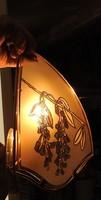 Vintage - ca. 50 éves - fali lámpa - olvasólámpa