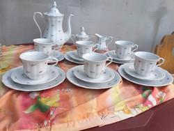 6 személyes Wakbrzych Holland reggelizőkészlet