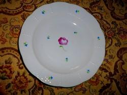 Herendi porcelán tányér tertia jelzéssel 24,5 cm