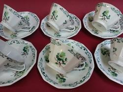 6 db Schlaggenwaldi teáscsésze