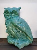 Zsolnay - Art Nouveau Animal Statue (extra large owl)