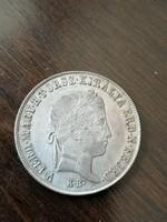 Szabadságharc  Ezüst 20 krajcár 1848 K.B