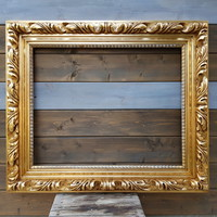Arany fa képkeret 59x74 cm (1313)