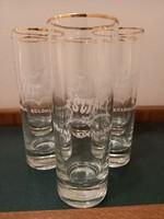 SZTÁR üdítős retro pohárkészlet