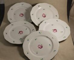 Herendi süteményes tányérok 5 db (91)