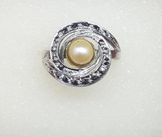 Ezüst gyűrű 56-es méret 3,48 gr