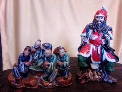 Keleti kerámia szobrok