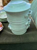 Porcelán ételhordó