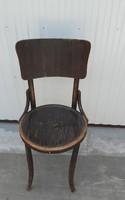 Thonet jellegű szék  paraszti dekoráció
