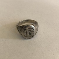 Antik ezüst pecsét gyűrű