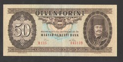 50 forint 1975. VF+++!! RITKA!!