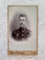 Antik katona fotó Atelier Universall Zagreb műtermi fénykép