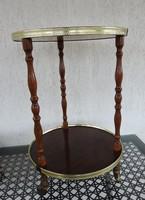 Vintage kör zsúrkocsi - szervírozó asztal - szervízkocsi