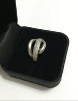Mutatós 925-ös ezüst gyűrű