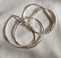 Unisex  ezüst lánc, 1,4 mm 50 cm 950 Sterling ezüst