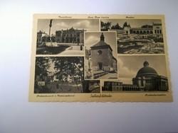 1940-es ével beli Székesfehérvár képeslap