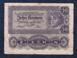 Ausztria 10 Korona 1922 (id11031)