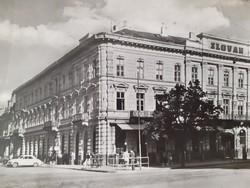 Régi képeslap 1958 Kassa Hotel Slovan