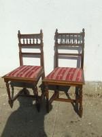 Kettő darab ónémet szék