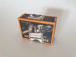 Régi retro bontatlan csomagolású szódásszifon szénsav patron 1972