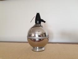 Régi retro fém gömb szódásszifon