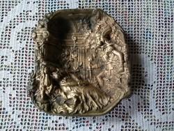Bronz tálka, Csipkerózsika  1926