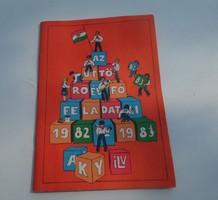 Régi retro Az Úttörő év fő feladatai 1982-83 könyv