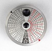 1B681 Antik Heyde's Aktino Photometer optikai megvilágításmérő fénymérő bőr tokjában