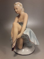 Fasold & Stauch porcelán balerina