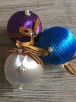 Régi karácsonyfadísz gömb