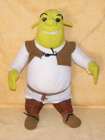 Nagyméretű Shrek plüss 60 cm